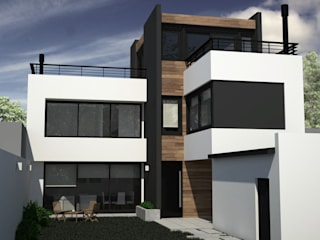 Casa RM de MC Arquitectura Moderno