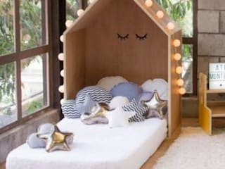 FABRICAMOS MUEBLES MONTESSORI E NFANTILES :  de estilo  por Montessori Room,