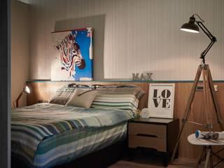 Bedroom by 勁懷設計, Modern