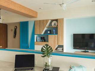 Living room by 勁懷設計, Minimalist