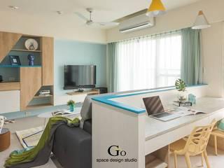 勁懷設計 Livings de estilo minimalista
