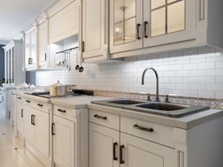Matt finish kitchens by Rebel Designs Eclectic