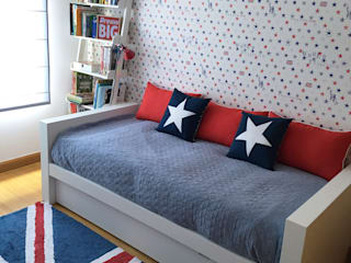 quarto adolescente:   por COSY Décor & Design