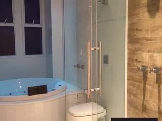 AD | House: Banheiros  por Aline Dinis Arquitetura de Interiores