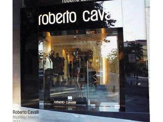 İstanbul Nişantaşı - Roberto Cavalli Mağazası 2010 Modern Evler BANLIO DESIGN Modern
