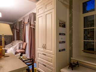 Москва, улица Садовая-Самотёчная:  в . Автор – Мебельное ателье White Interior