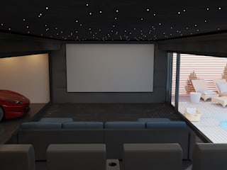 Cheshire Home Cinema Room Custom Controls Electronics