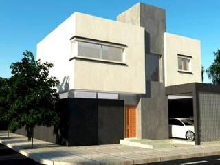 Obra H.C.: Casas de estilo  por I.S. ARQUITECTURA