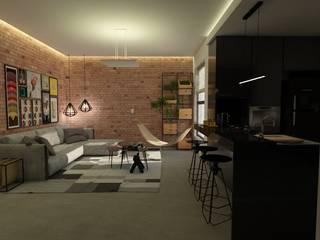 AP CC: Salas de estar  por LabDesign ,Industrial