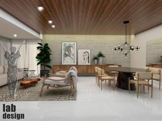 AP ES: Salas de estar  por LabDesign ,Eclético