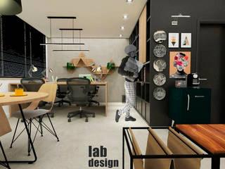 Escritório LabDesign: Escritórios  por LabDesign ,Industrial
