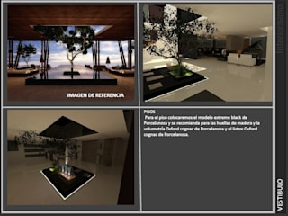 Jardin interior: Jardines de piedra de estilo  por INTERIORISIMO
