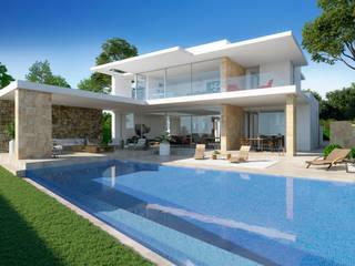por Chiarri arquitectura Mediterrânico