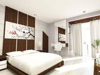 Casa Cano JM ArchViz Dormitorios modernos