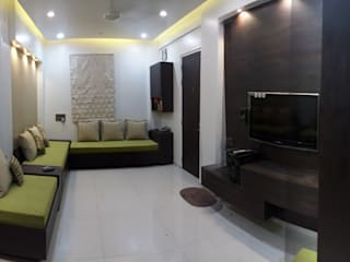 Interior & Turnkey Project Modern living room by Anthem Interiors & Turnkey Solutions Modern