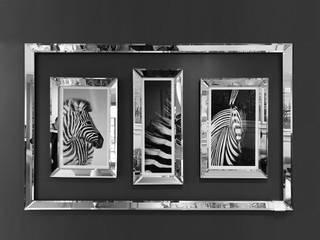 Atl Dekor – 3' lü Zebra Ayna:  tarz