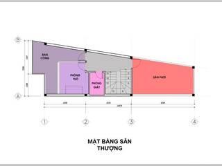 の Công ty TNHH TK XD Song Phát モダン