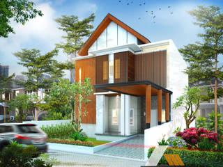 Renovasi rumah dr Irsad Oleh Architeamstudio Tropis