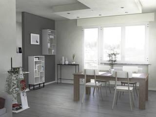 Ristrutturazione appartamento Sala da pranzo moderna di Studio Tecnico Treppo Alberto Moderno