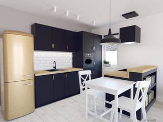 Mieszkanie Warszawa Wilanów: styl , w kategorii Kuchnia zaprojektowany przez Wschód Architekci