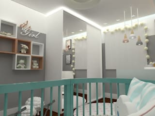 Baby room by Angelica Pecego Arquitetura