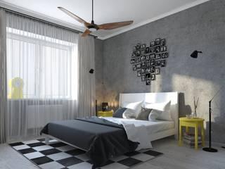 Лучшее интерьерное решение в деталях: Спальни в . Автор – Natalia Iksanova