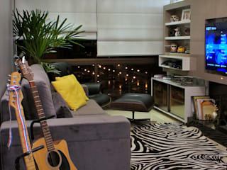 Living room by W4 ARQUITETURA