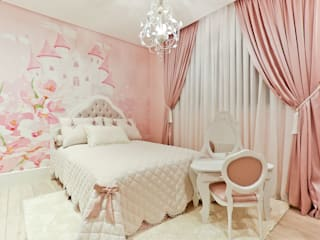 Apartamento: Quartos das meninas  por Spengler Decor,Moderno