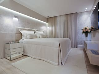 Apartamento: Quartos  por Spengler Decor,Moderno