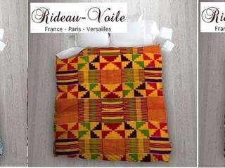Tissu imprimé à motifs africain style wax pagne ankara:  de style  par Rideau-voile, Classique
