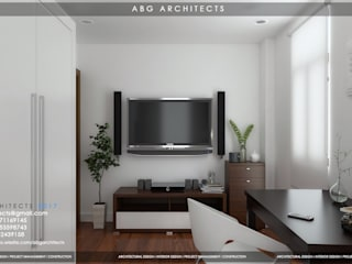 Interior Works Bedroom Modern style bedroom by ABG Architects and Builders Modern