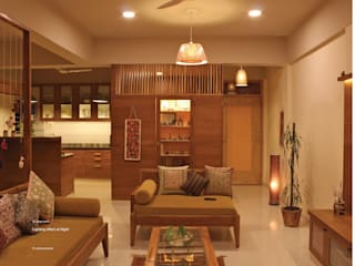Astha emrald:  Living room by studio18_by_sneha