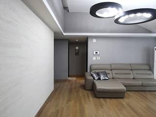 에이프릴디아 Modern living room Beige
