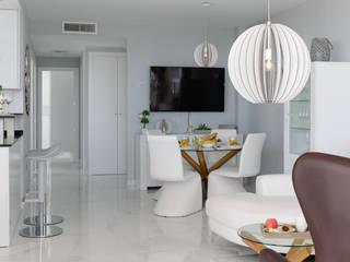 Apartamento en Arenales del Sol, ALicante: Salones de estilo  de AGUSTIN DAVID PHOTOGRAPHY