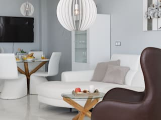 Apartamento en Arenales del Sol, ALicante: Salones de estilo moderno de AGUSTIN DAVID PHOTOGRAPHY