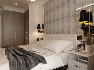 Проект CONTEMP Спальня в классическом стиле от M5 studio Классический