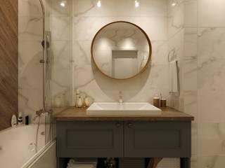 Проект CONTEMP Ванная в классическом стиле от M5 studio Классический