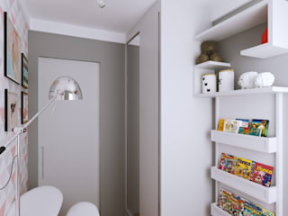 Girls Bedroom by Secato Arquitetura e Interiores, Modern