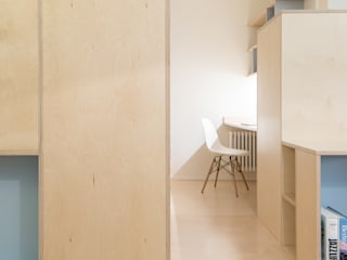 CHS | Urban Nest PLUS ULTRA studio Studio in stile scandinavo Legno