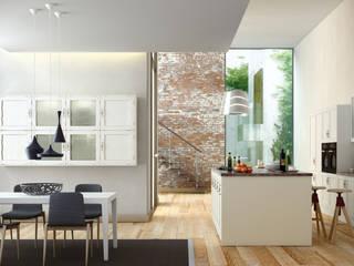 Isoko Proyecto Встроенные кухни Твердая древесина Эффект древесины