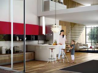 Isoko Proyecto Встроенные кухни ДПК Многоцветный