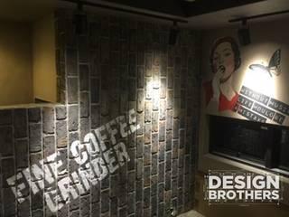 실내 벽화 프로젝트 모던 스타일 쇼핑 센터 by 디자인브라더스 모던