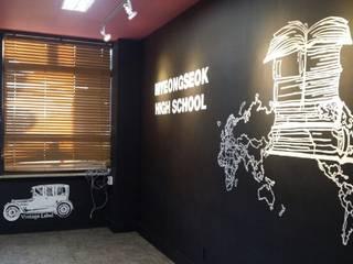 실내 인테리어 프로젝트: 디자인브라더스의  바 & 카페