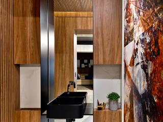 Espaço do Traço arquitetura Modern style bathrooms