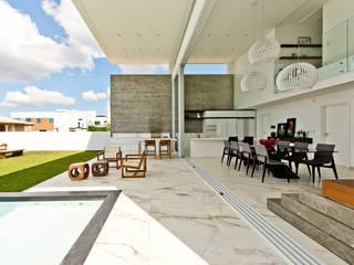 Espaço do Traço arquitetura Minimalist style garden