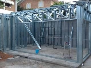 Reforma área de lazer - Light Steel Frame Casas modernas por Engenharia expressa Moderno