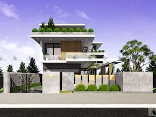 VILLA A. HA. :  Biệt thự by AE STUDIO DESIGN