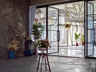 目沐攝影棚 Mu-Mu Studio 根據 漢玥室內設計 隨意取材風