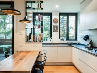 Private Apartment TOCA Wisp Architects Kitchen