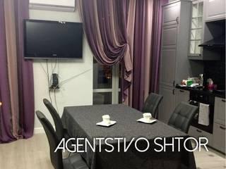 Стильные шторы для квартиры студии :  в . Автор – Agentstvo shtor